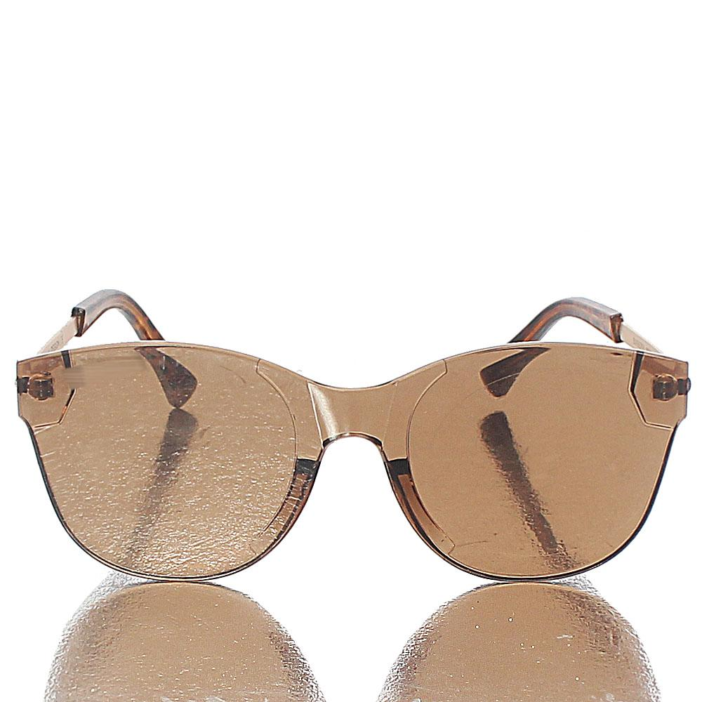 Brown Cat-Eye Sunglasses