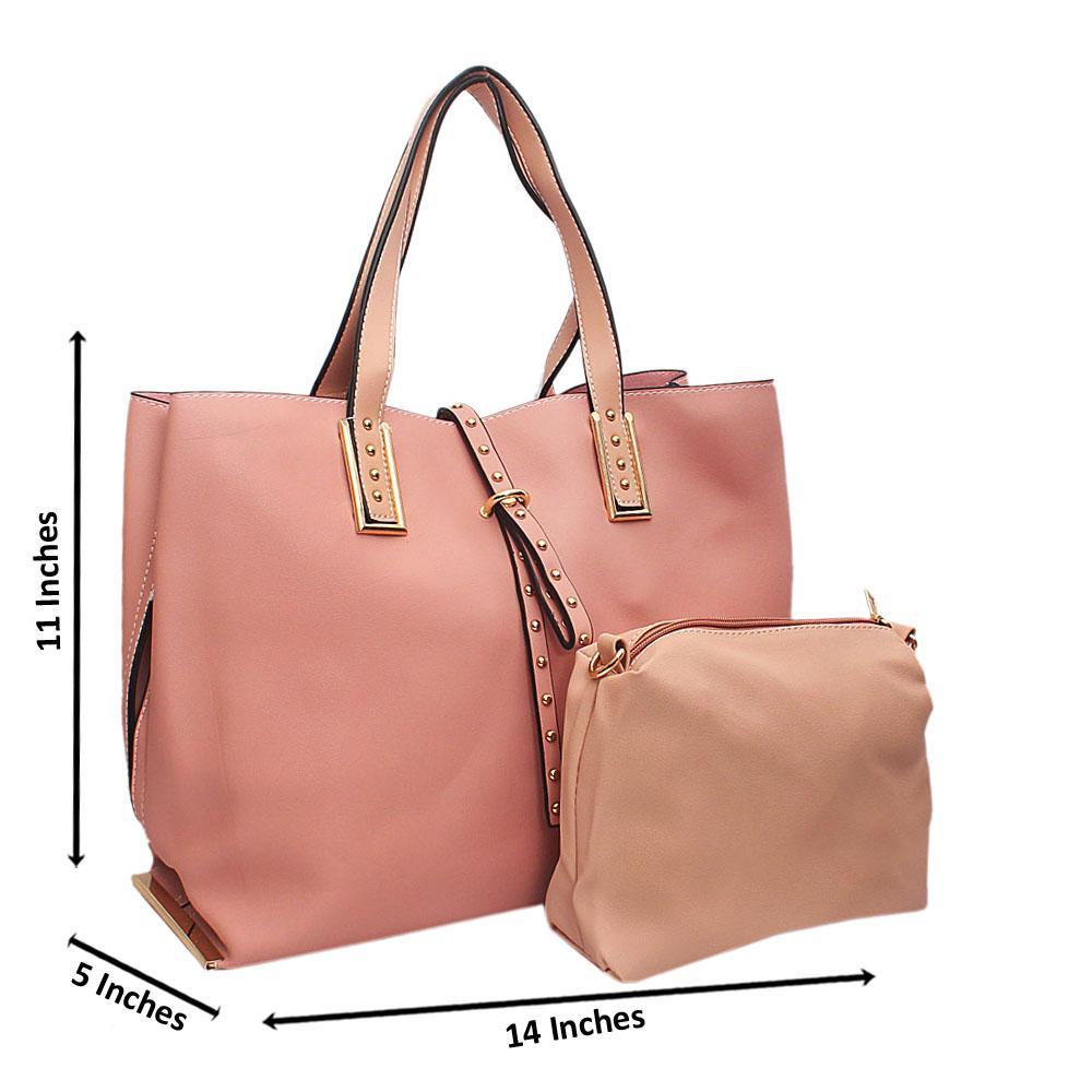 Barbie Pink Tandy Leather Shoulder Handbag