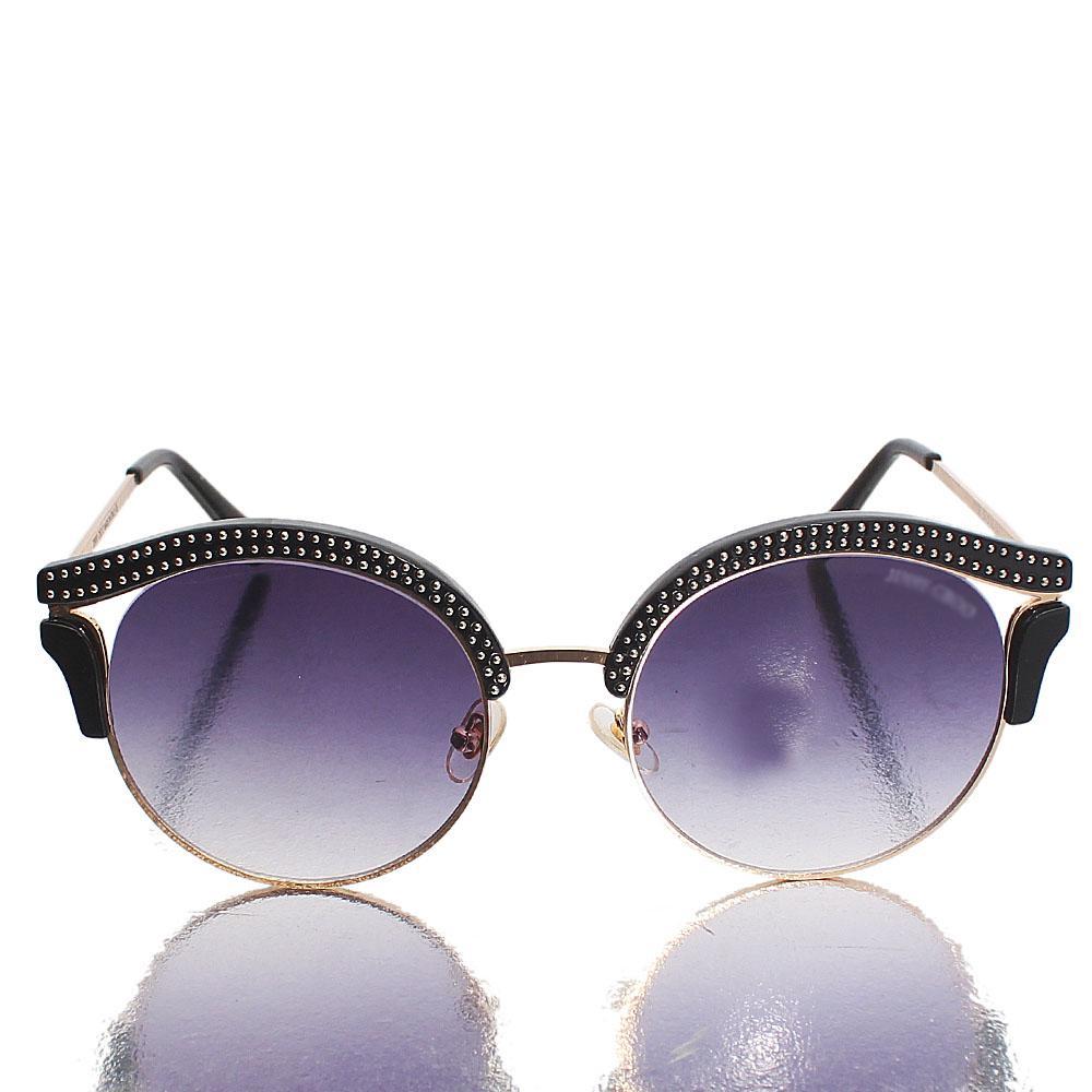 Gold Black Club Master Sunglasses