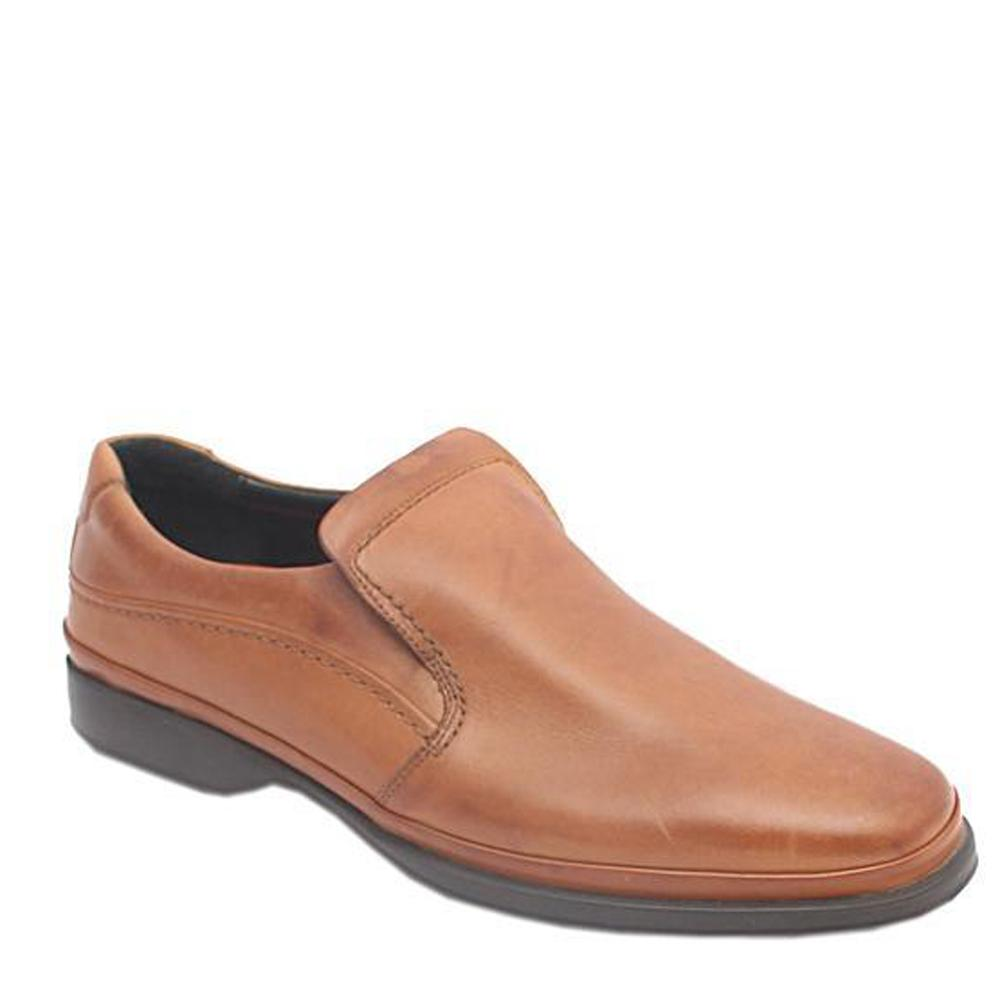 Air Flex Brown Slip-on Leather Men Shoe-Sz 44