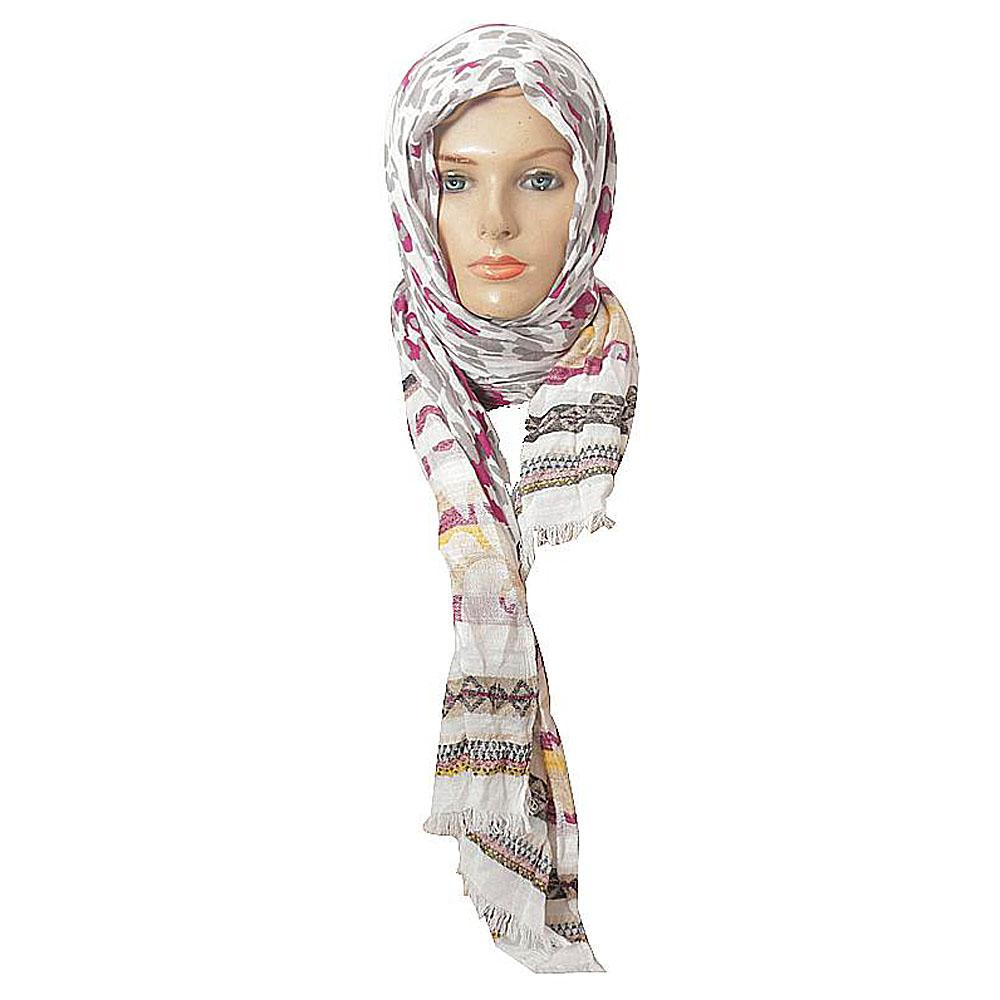 Per Una Grey - Wine Ladies Scarf-One Size