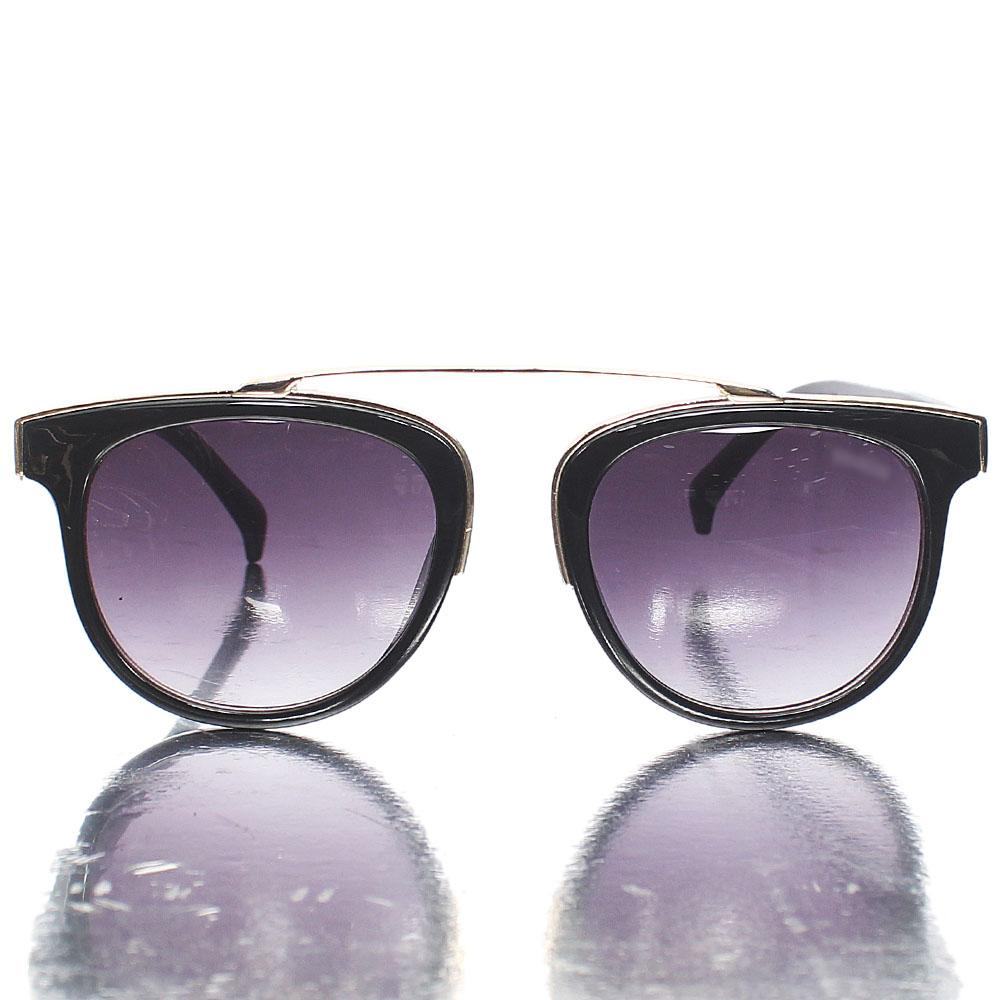 Gold Black Dark Lens Vector Sunglasses