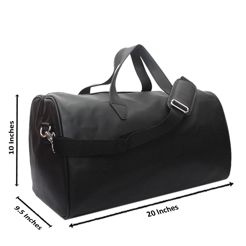 M-n-S-Black-Leather-Travel-Bag