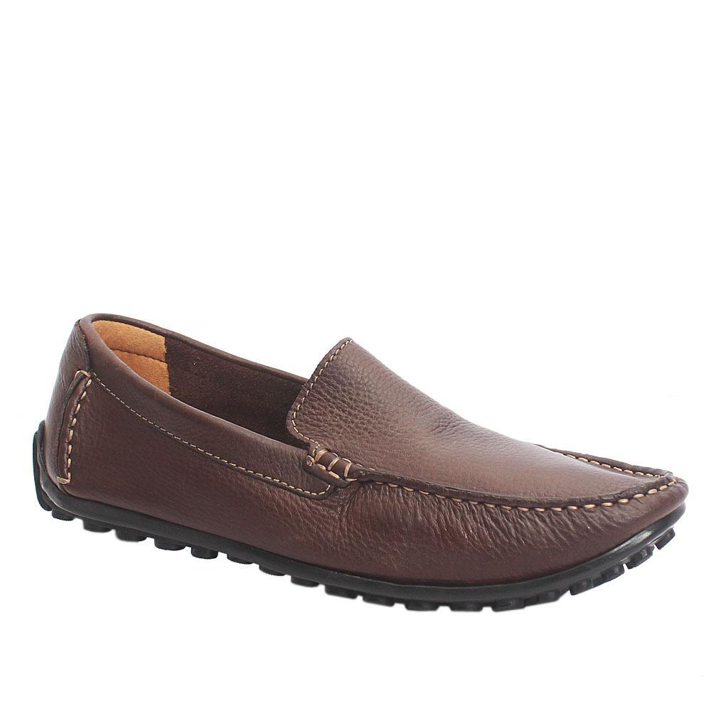 Clarks Ortholite Coffee Premium Leather Loafers