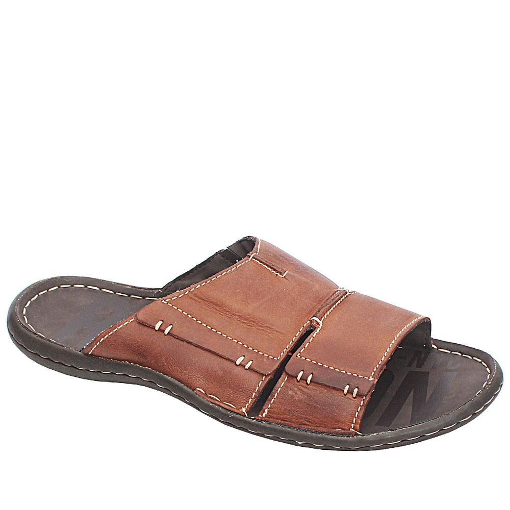 Kenneth Cole Reaction Brown Premium Leather Slippers