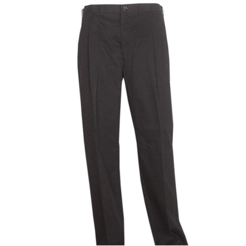 Mark & Spencer Travel Navy Cotton Mens Straight Fit Trouser Sz 44