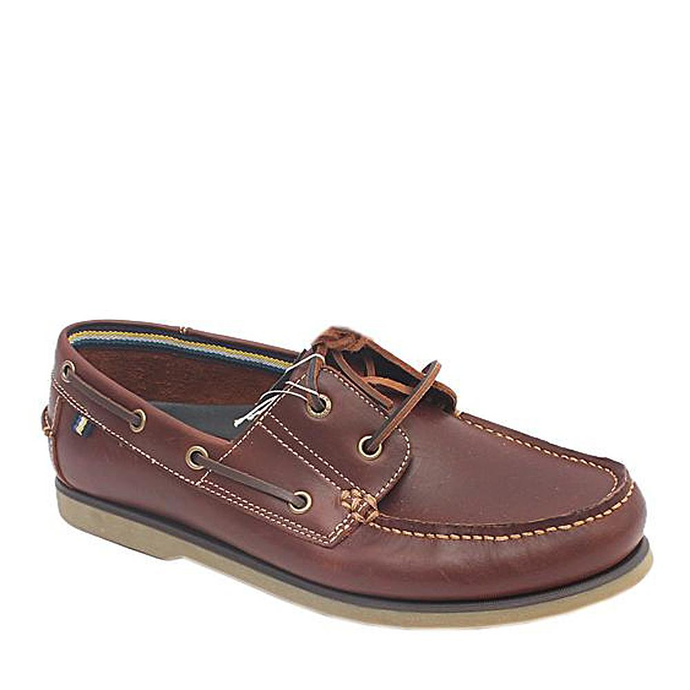 M&S Blue Harbour Brown Leather Mens Loafers-Eur 45