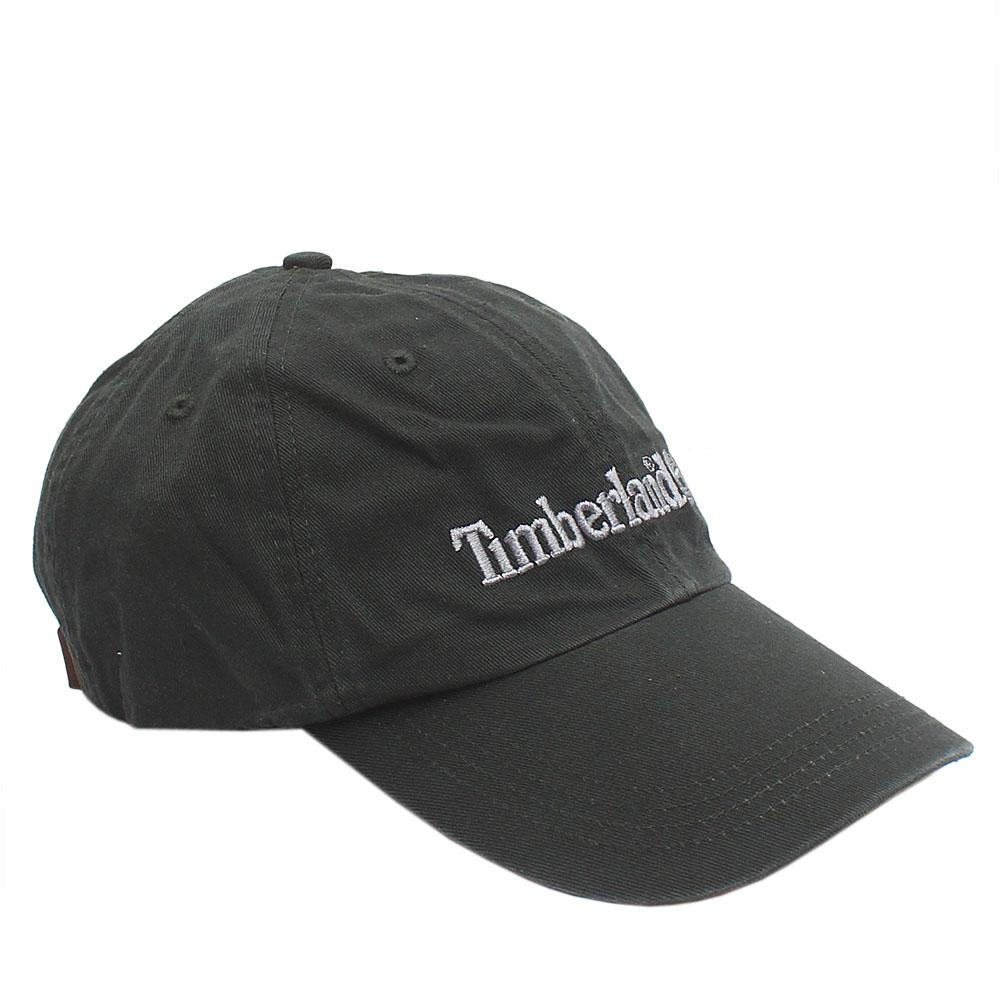 Timberland Army Green Cotton Face Cap