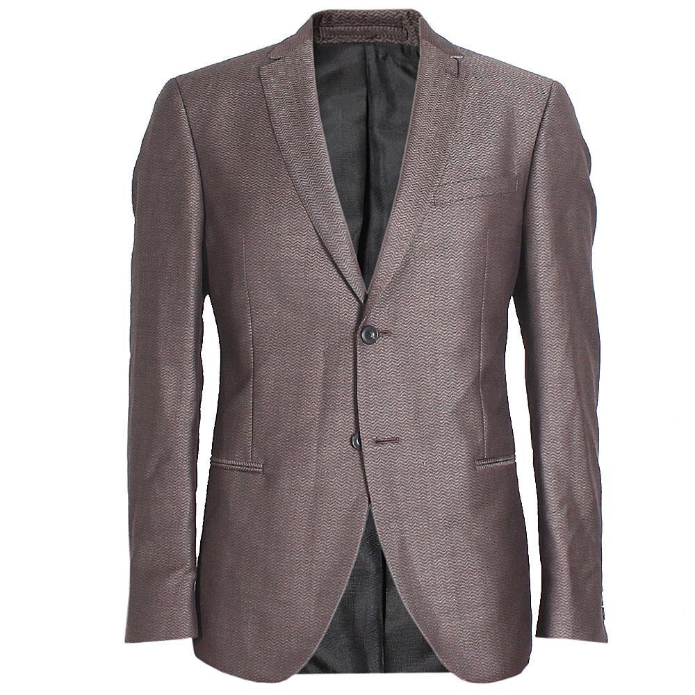 M&S Autograph Brown Cotton Regular Fit Men Jacket