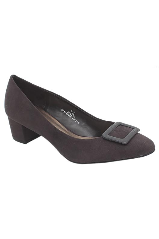 M&S Collection Widerfit Brown Ladies Heel Shoe