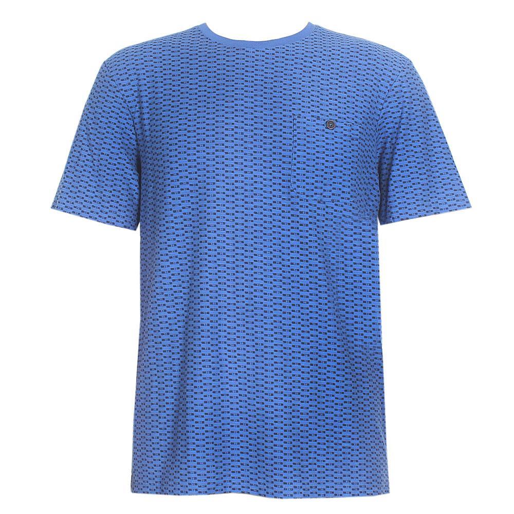 North Coast Blue Black Men T-Shirt