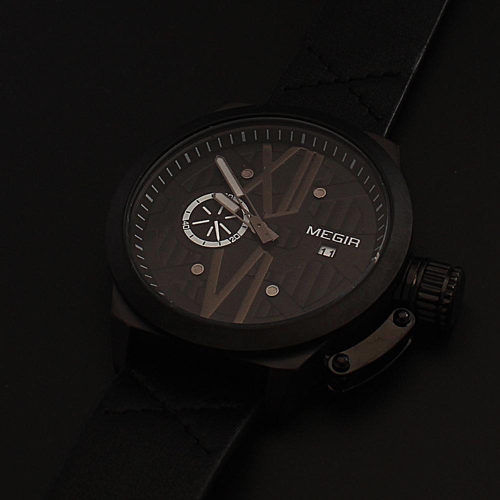 MG-Xchange-Black-Leather-Watch