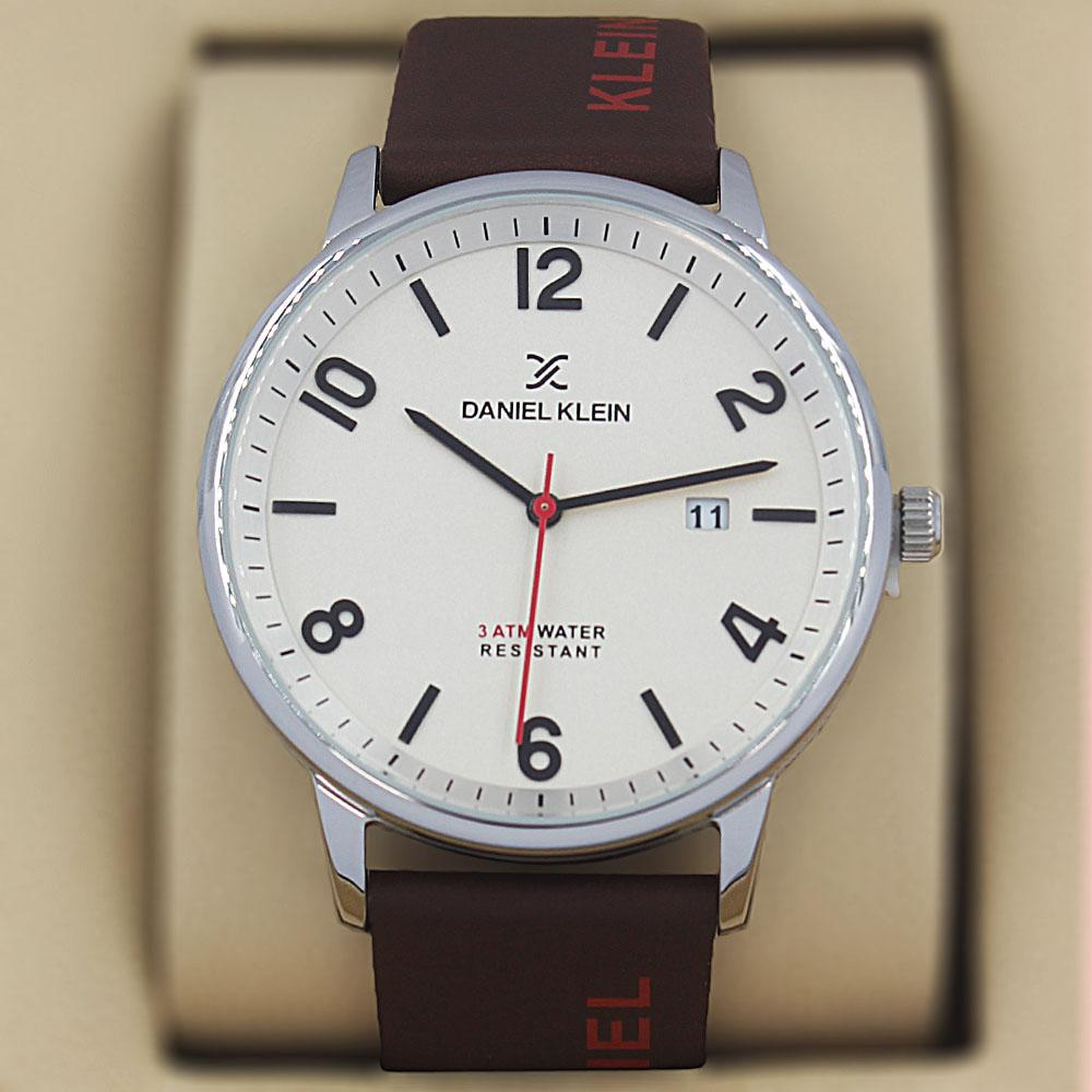 Daniel Klein Olympus Coffee Leather Classic Series Watch