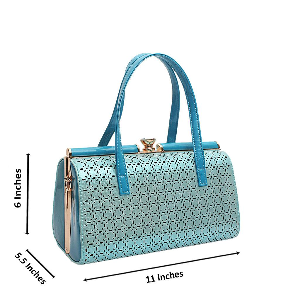 London-Style-Turquoise-Blue-Patent-Leather-Handbag