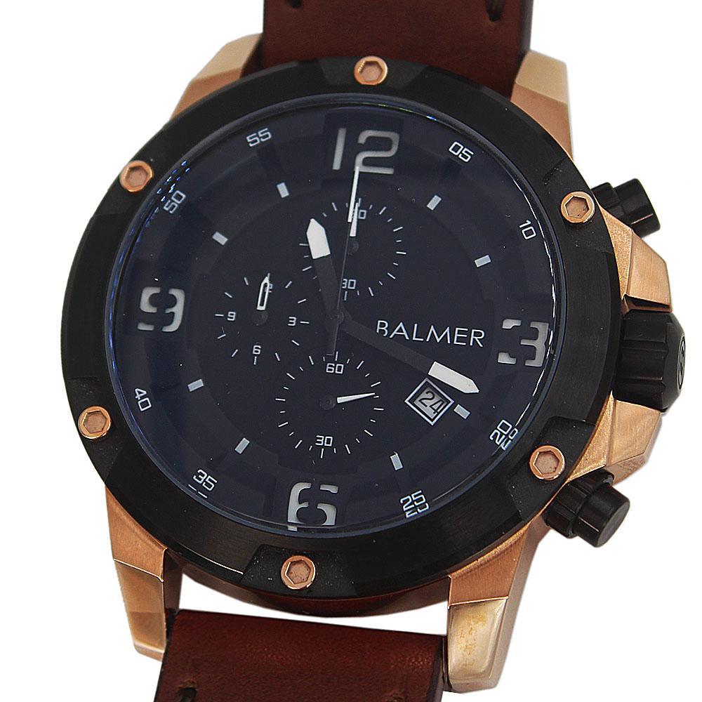 Big Bang Brown Leather Navigators Chronograph Watch