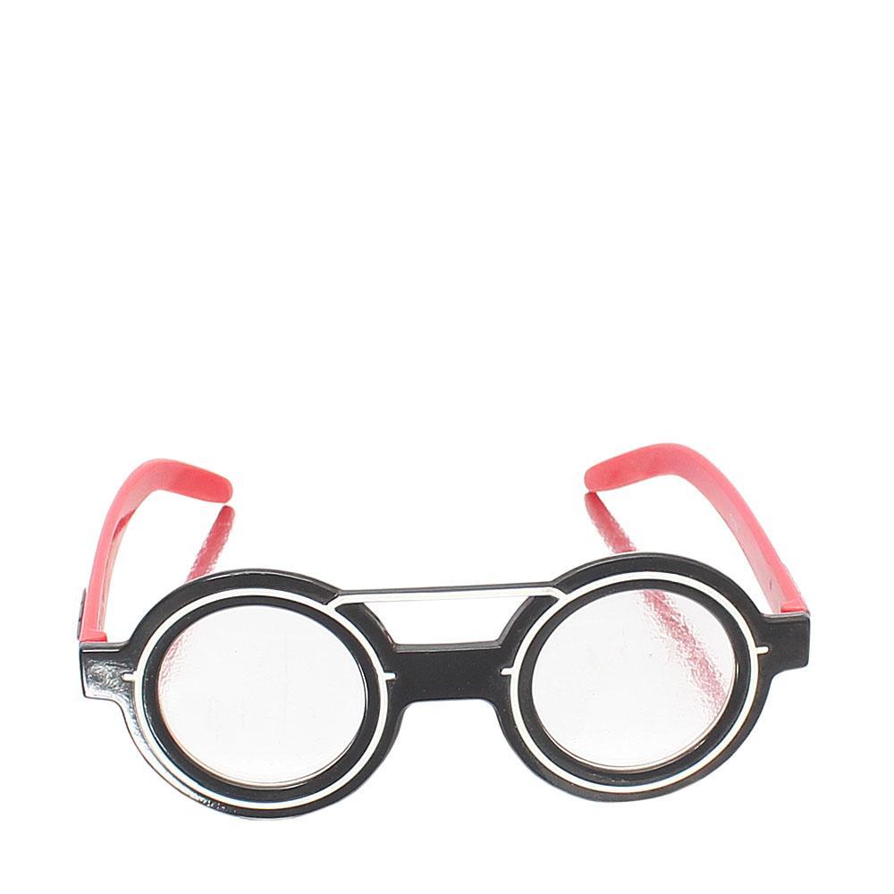 Diamond Black Transparent Ladies Glasses