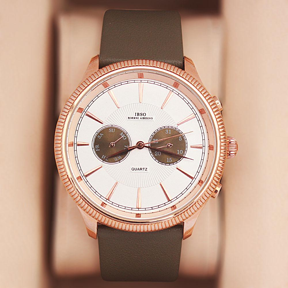 Navigator Carmo Leather Watch