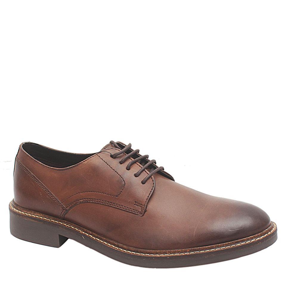 M & S Brown Premium Leather Lace-up Men Shoe