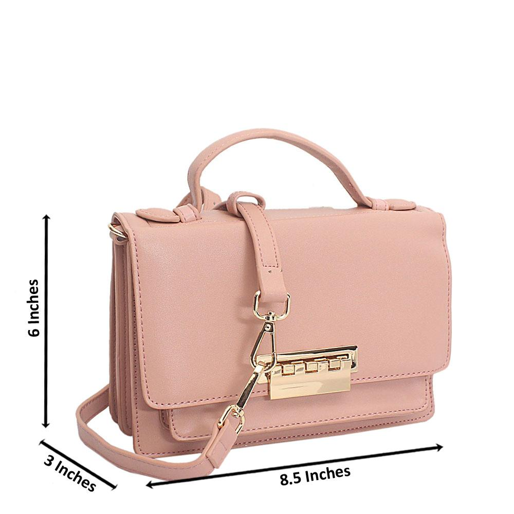 Pink Leather Delightful Mini Handbag