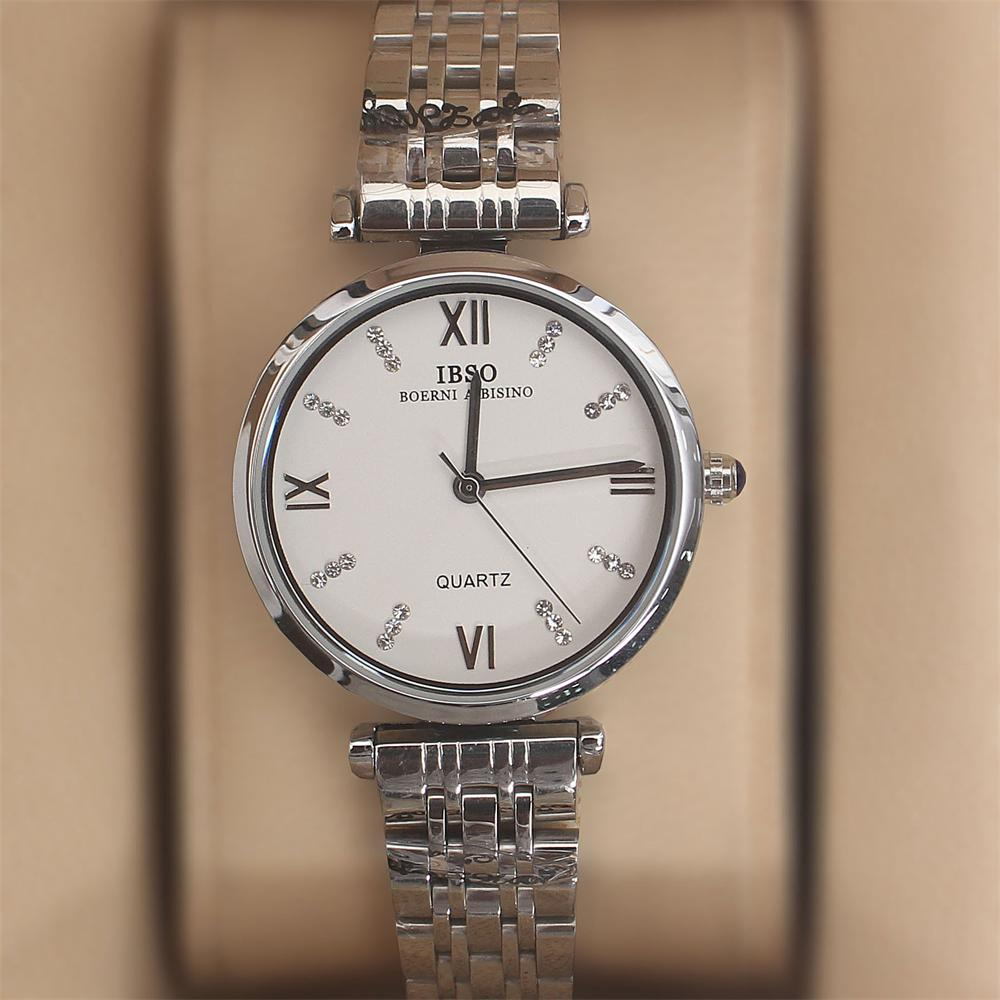 Swift Silver Stainless Steel Ladies Watch