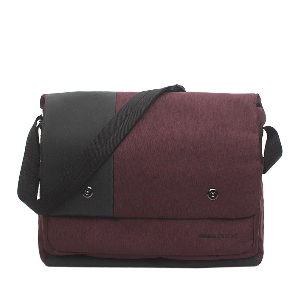 Filofax-Aretea-Wine-Black-Fabric-Messenger-Bag