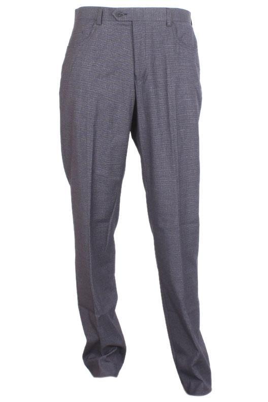 M & S Dark Gray Cotton Slim Fit Men Pant