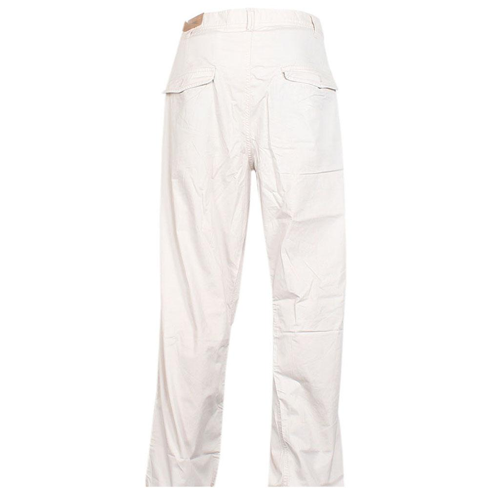 Timberland-Off-White-Cotton-Men-Trouser-W-42-L-45-Inch