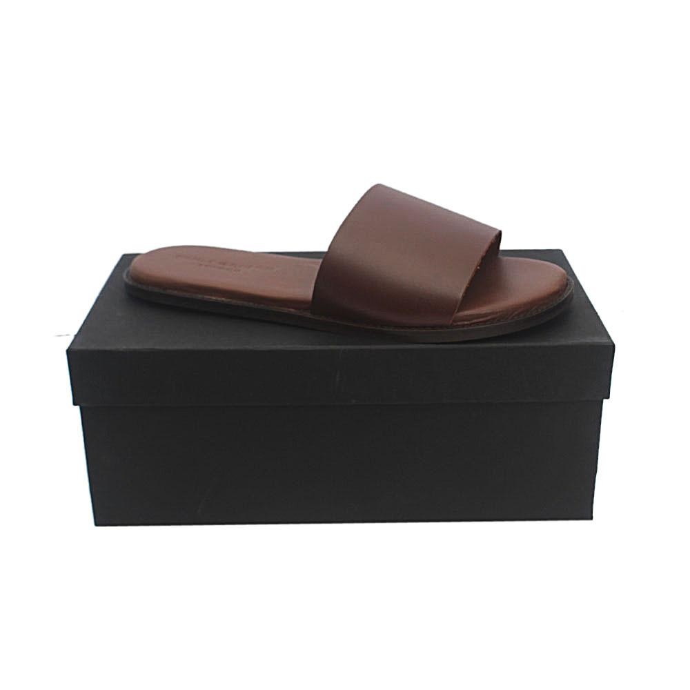 Kurt Geiger Bobby Brown Premium Leather Slippers