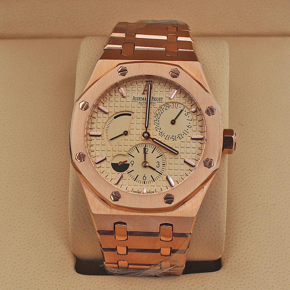 Rose Gold Automatic Men Watch -comes in wholesale case