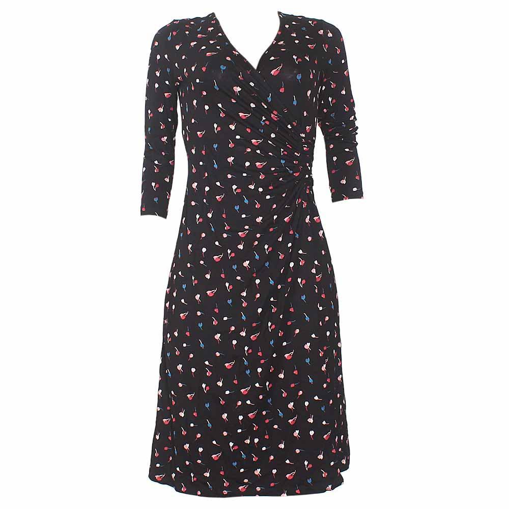 M&S Collection Black Mix Ladies Dress
