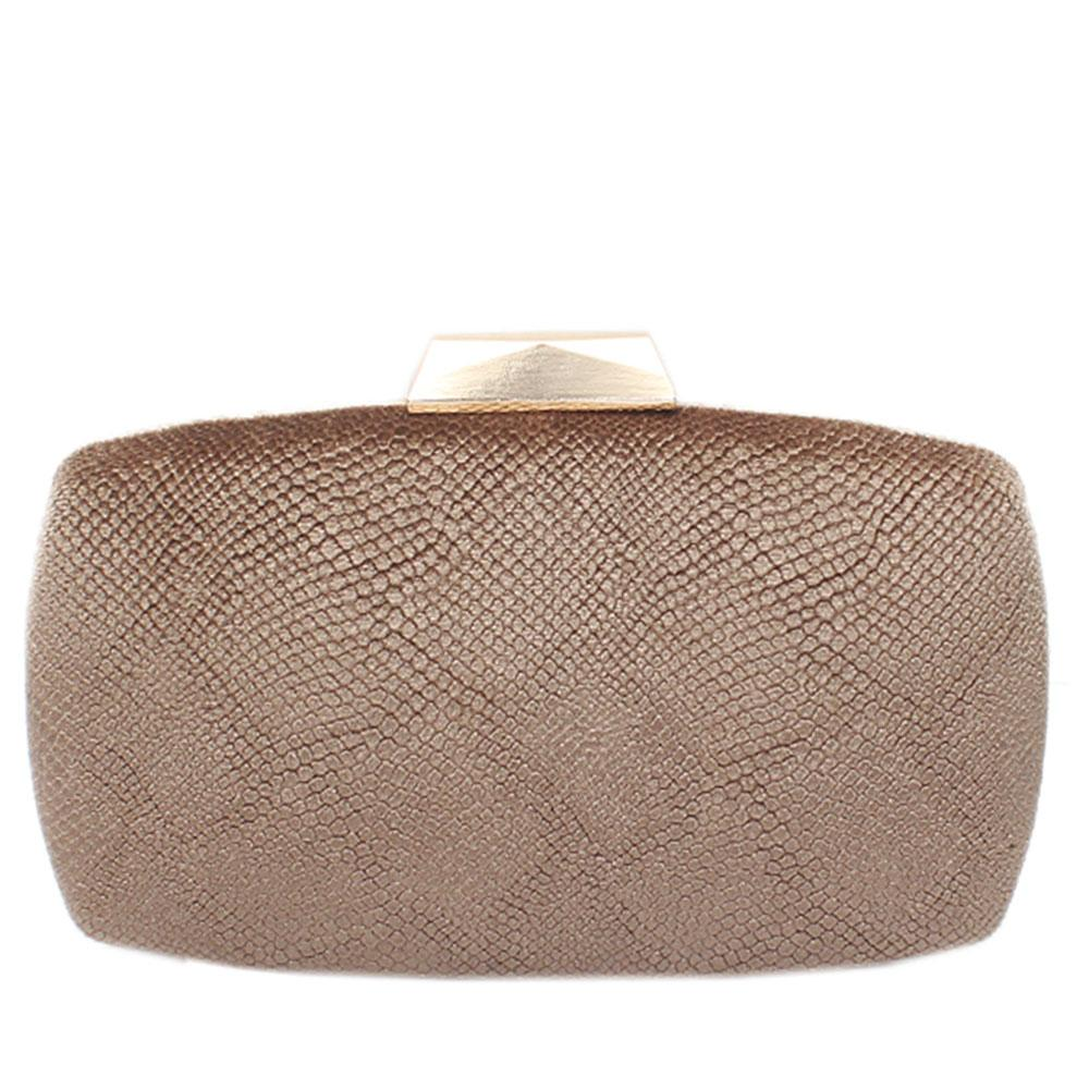 Gold Corduroy Premium Hard Clutch
