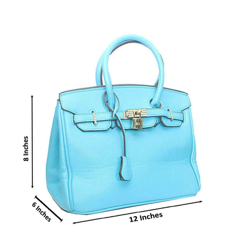 Blue Miane Tandy Leather Handbag