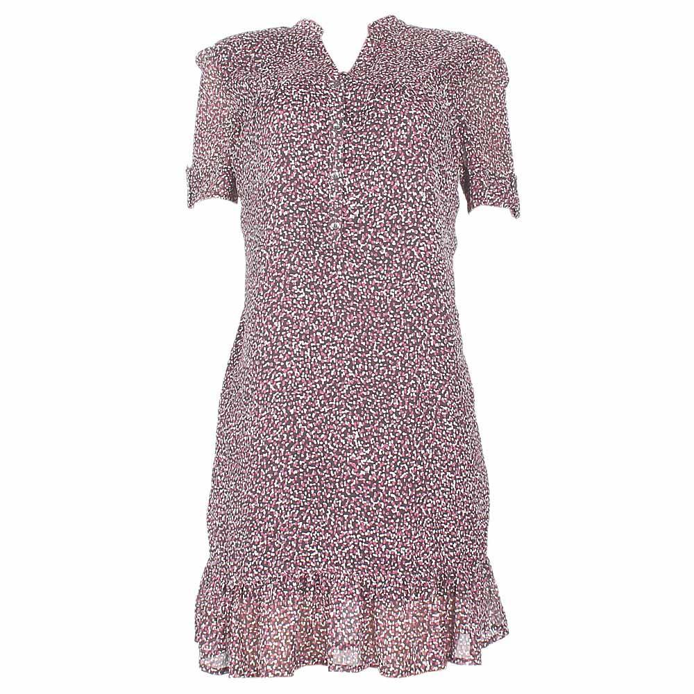 M & S Autograph Purple/Brown Ladies Dress