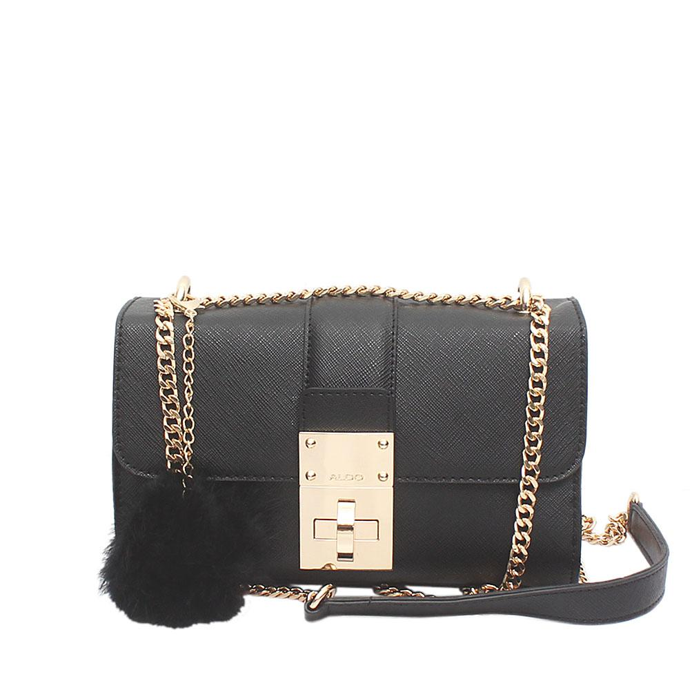 Black Leather Small Cross Body Bag