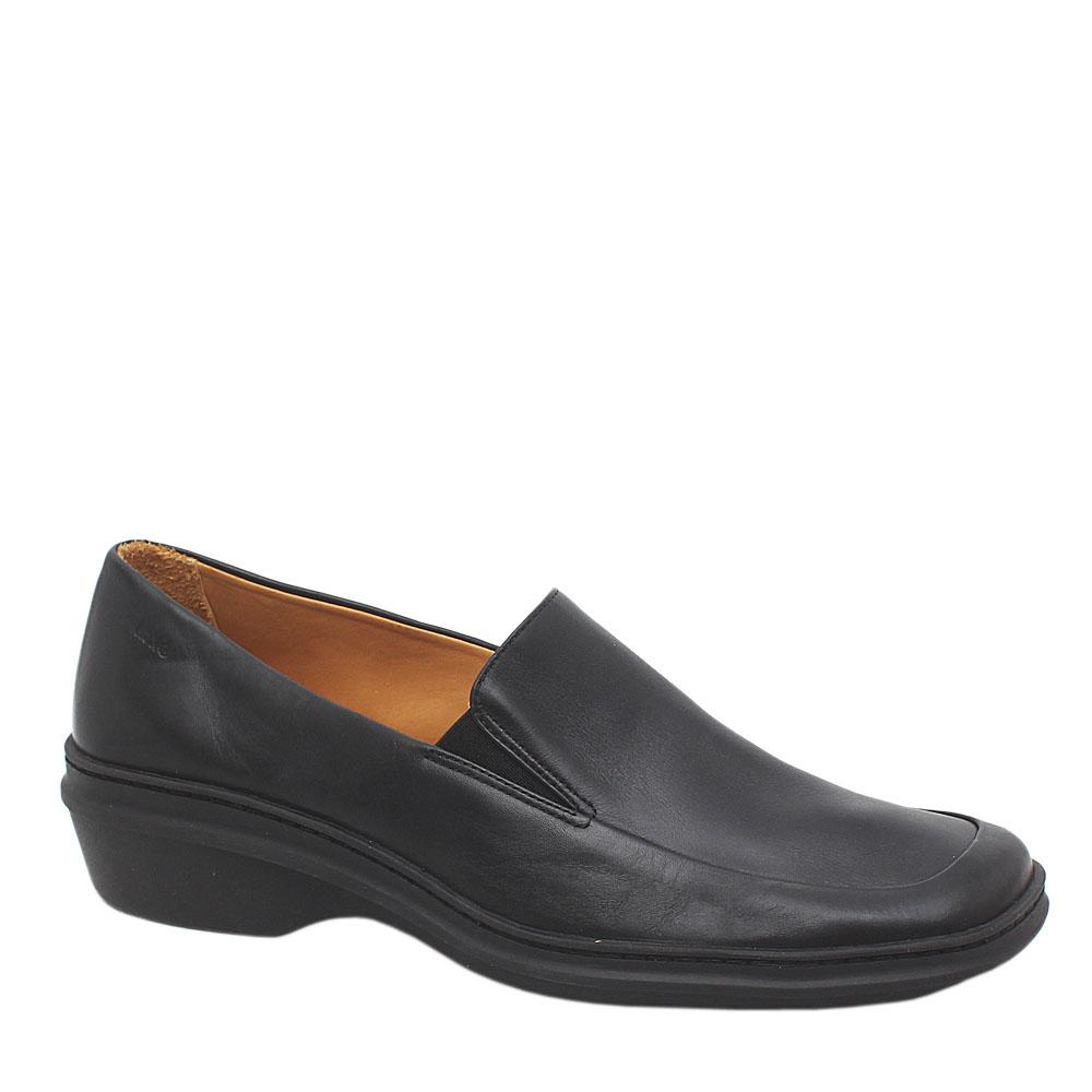 Clarks Springers Black Leather Ladies Shoes