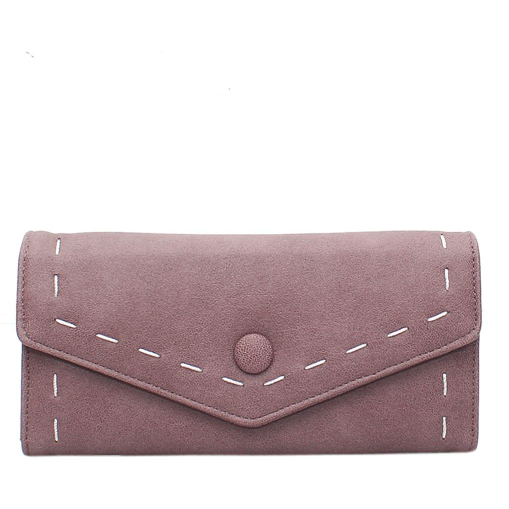 Lilac Leather Ladies Wallet
