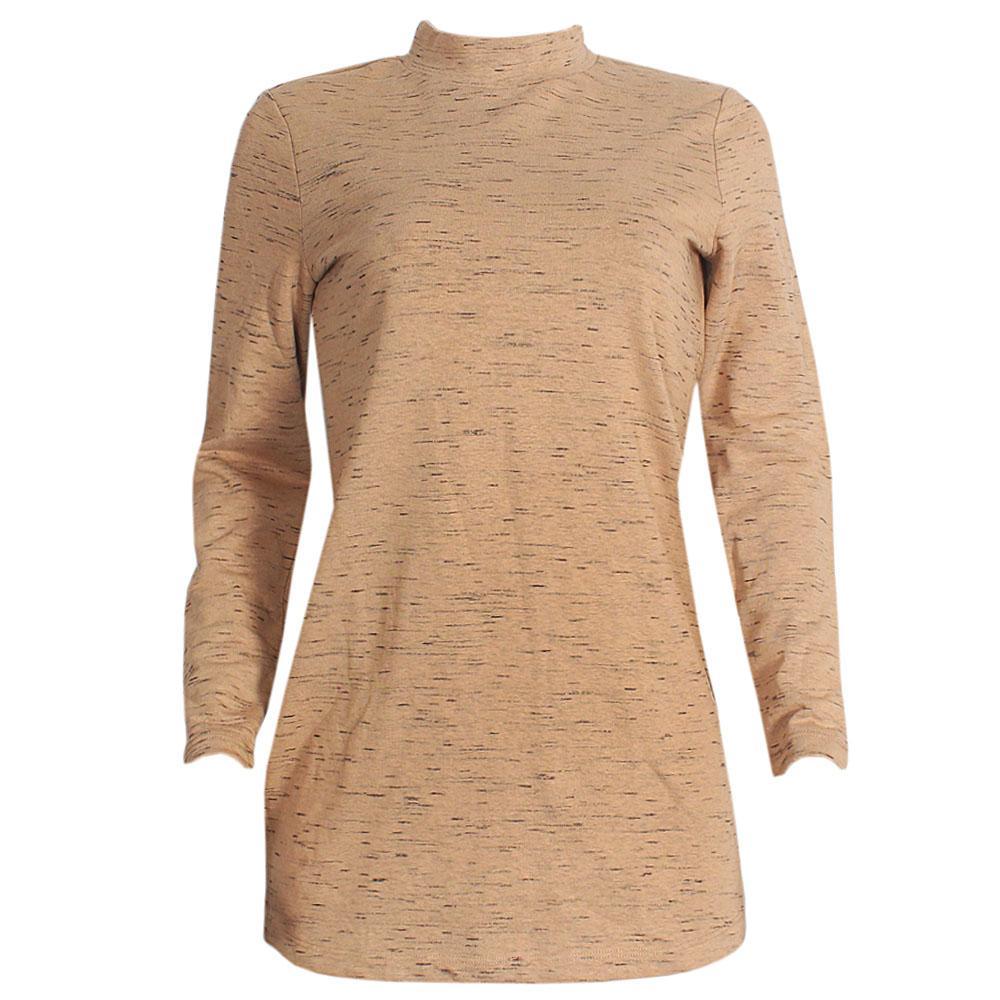 M&S Brown L/Sleeve  Ladies Top