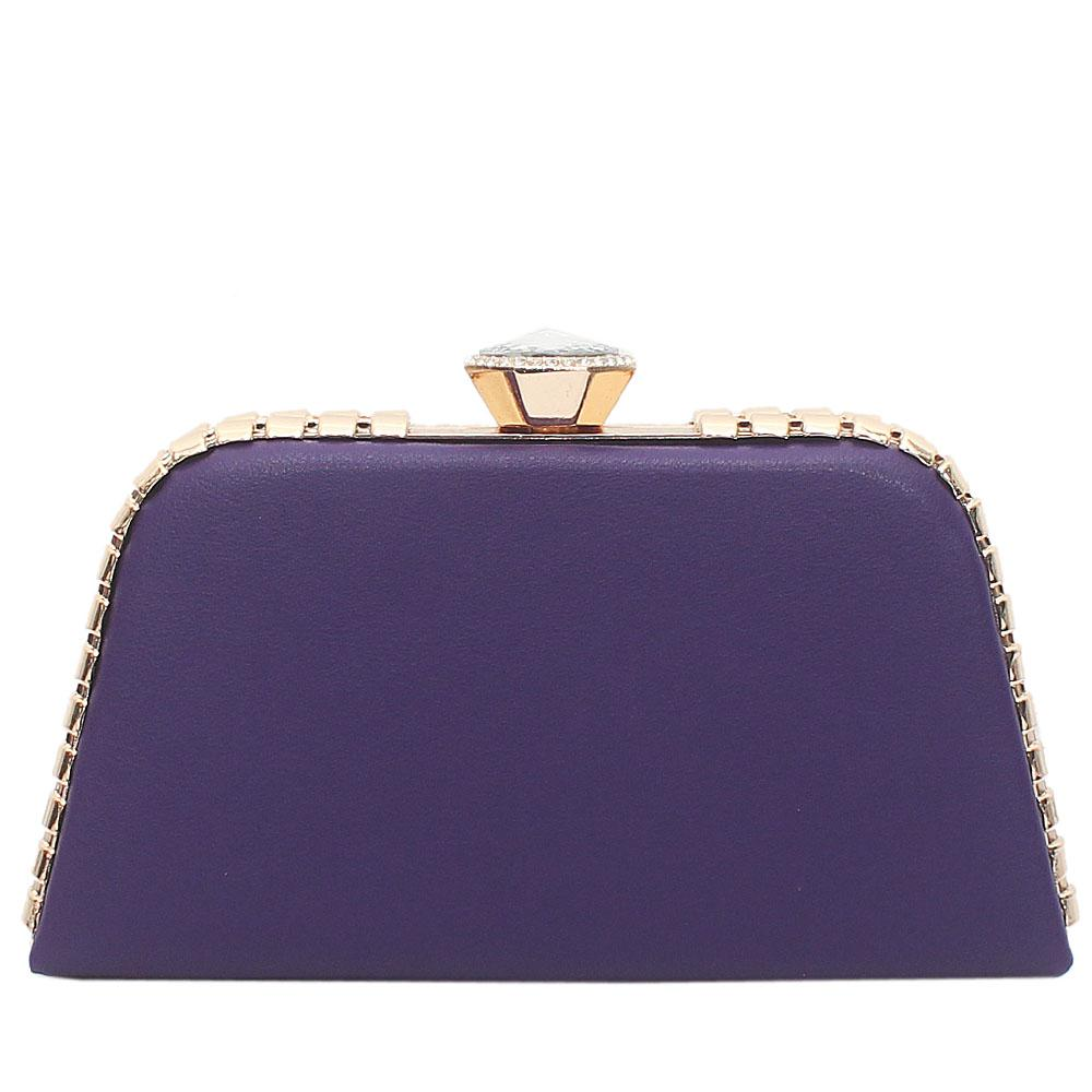 Purple-Leather-Premium-Hard-Clutch