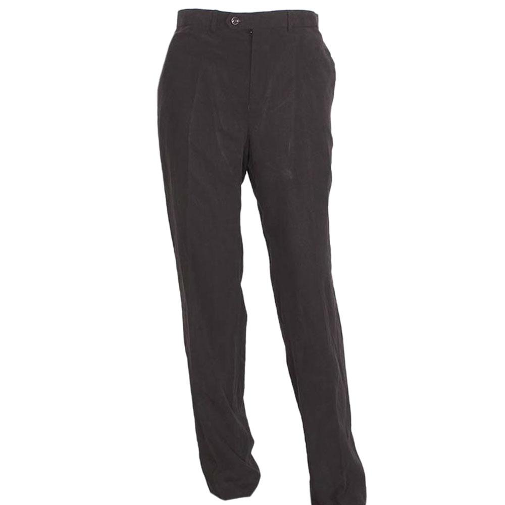 M-n-S-Deep-Gray-Mens-Cotton-Trouser-Sz-W36L33