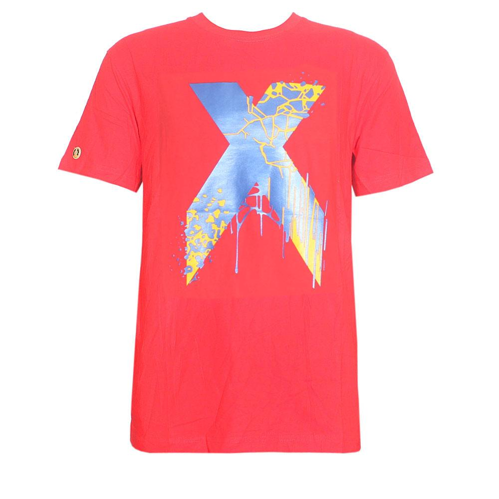 Superday Red Graphic Print Men T-Shirt