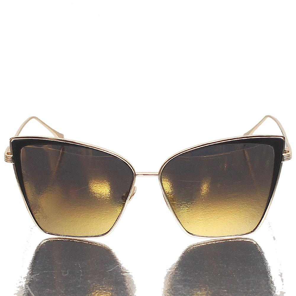 Gold Butterfly Gold Paolarized Lens Sunglasses