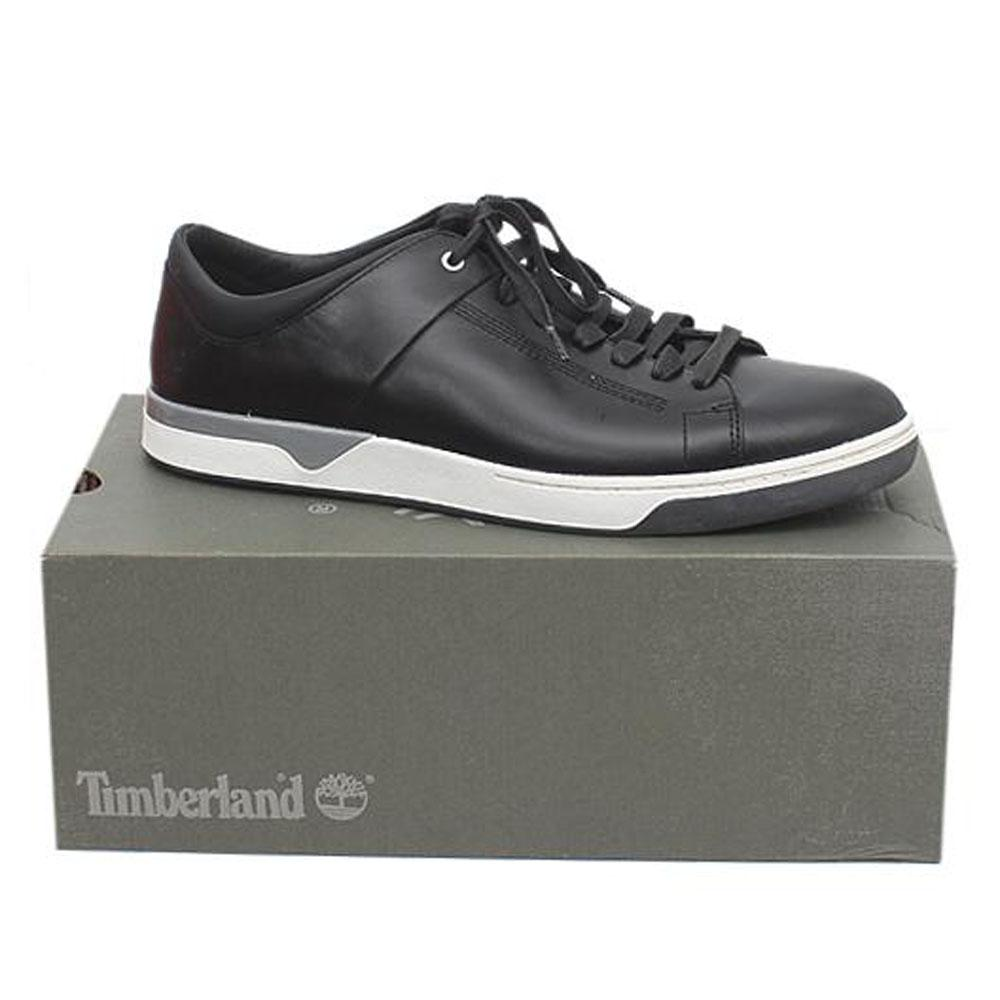 Timberland Black White Lace Up Men Sneakers