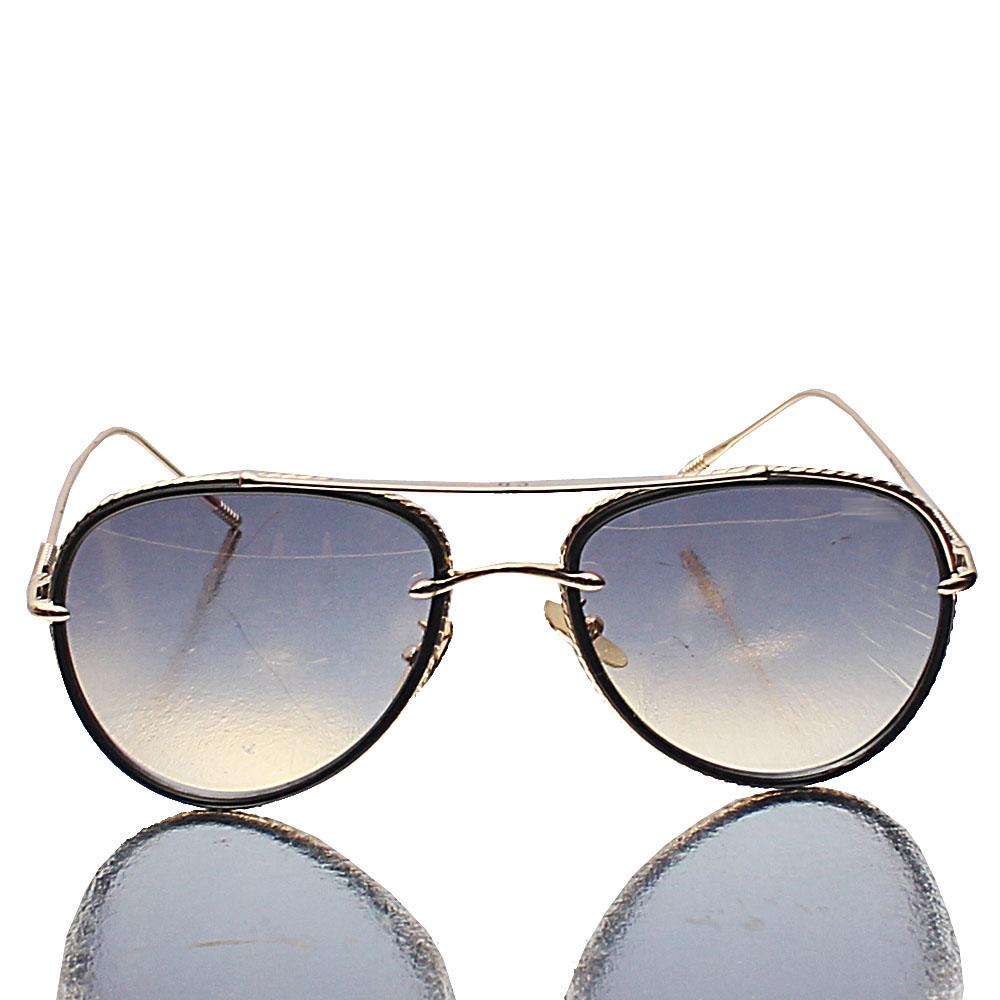 Gold Aviator Brown Lens Sunglasses