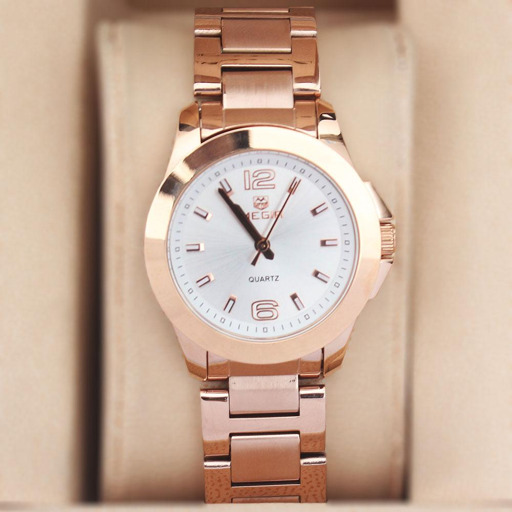 Megir Rose Gold Ladies Watch