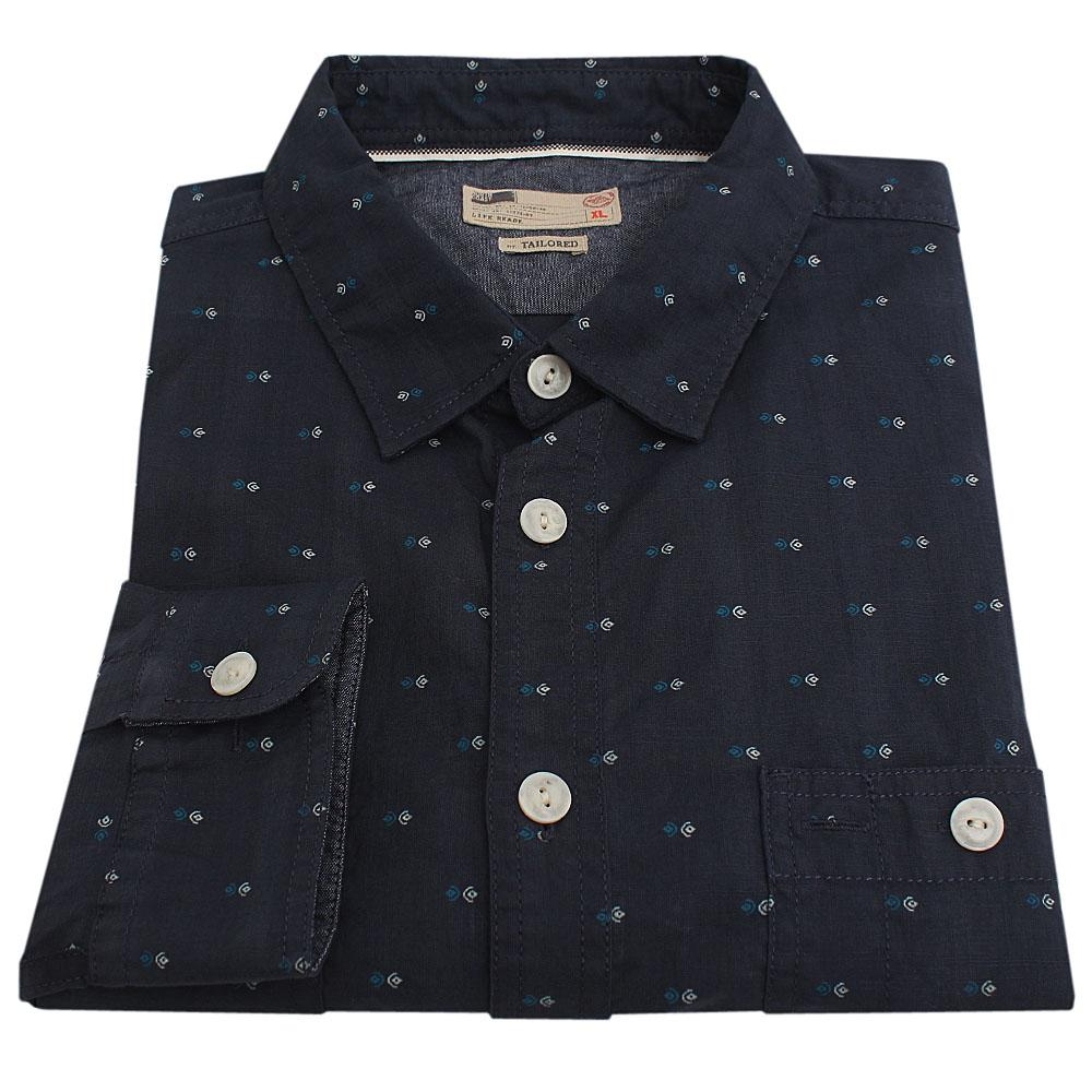 North Cost Blue L/Sleeve Tailored Fit Men Shirt