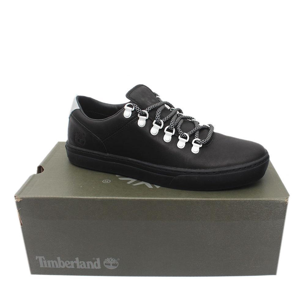 Timberland Black Sneakers Premium Leather Sneakers