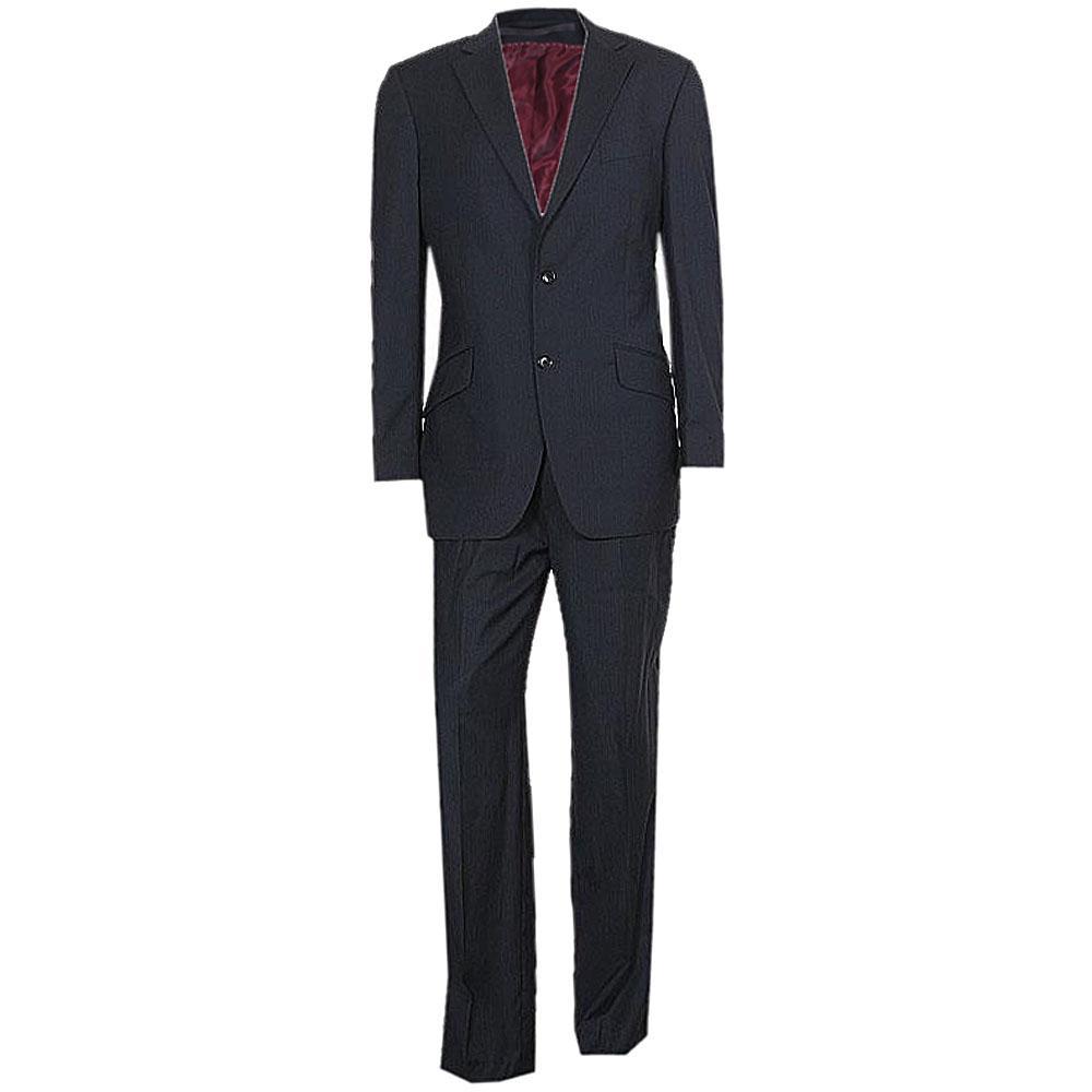 Austin Reed Navy With Stripe Men's Suit Sz 40R