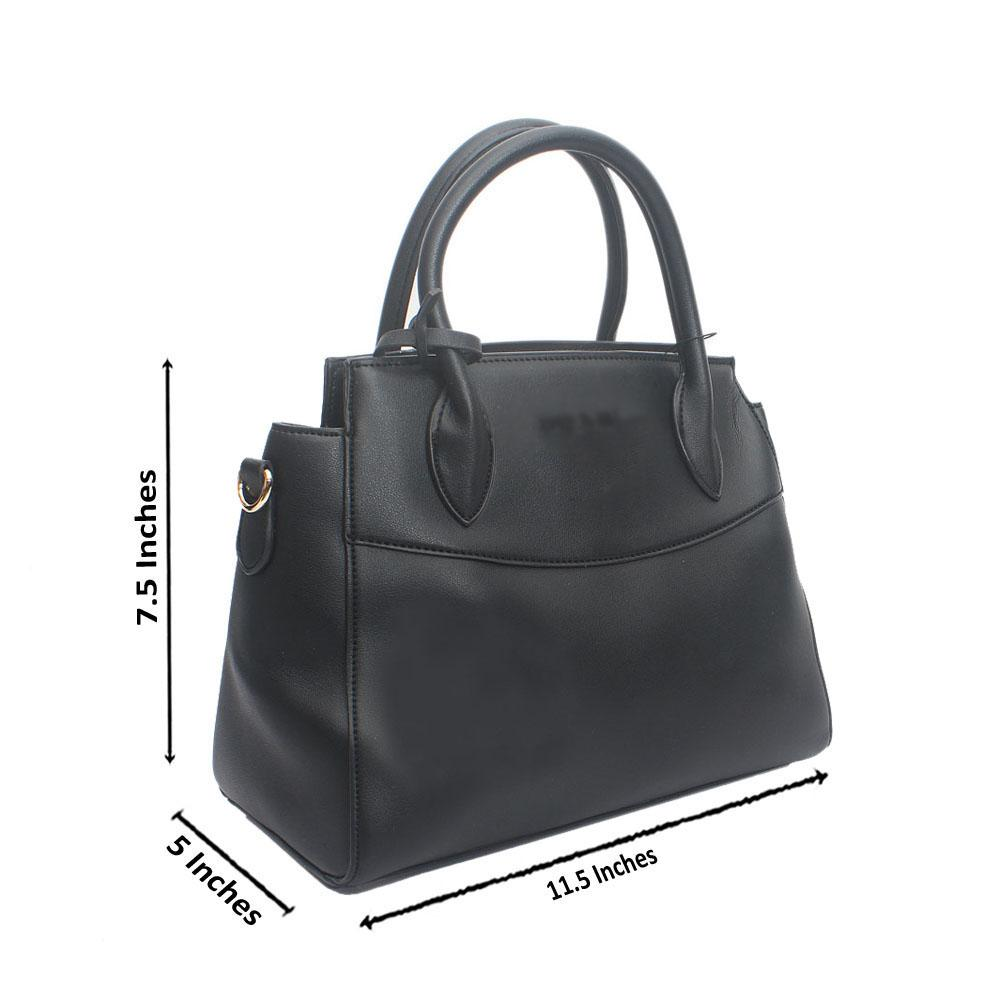 Black Miliano Medium Calfskin Leather Handbag