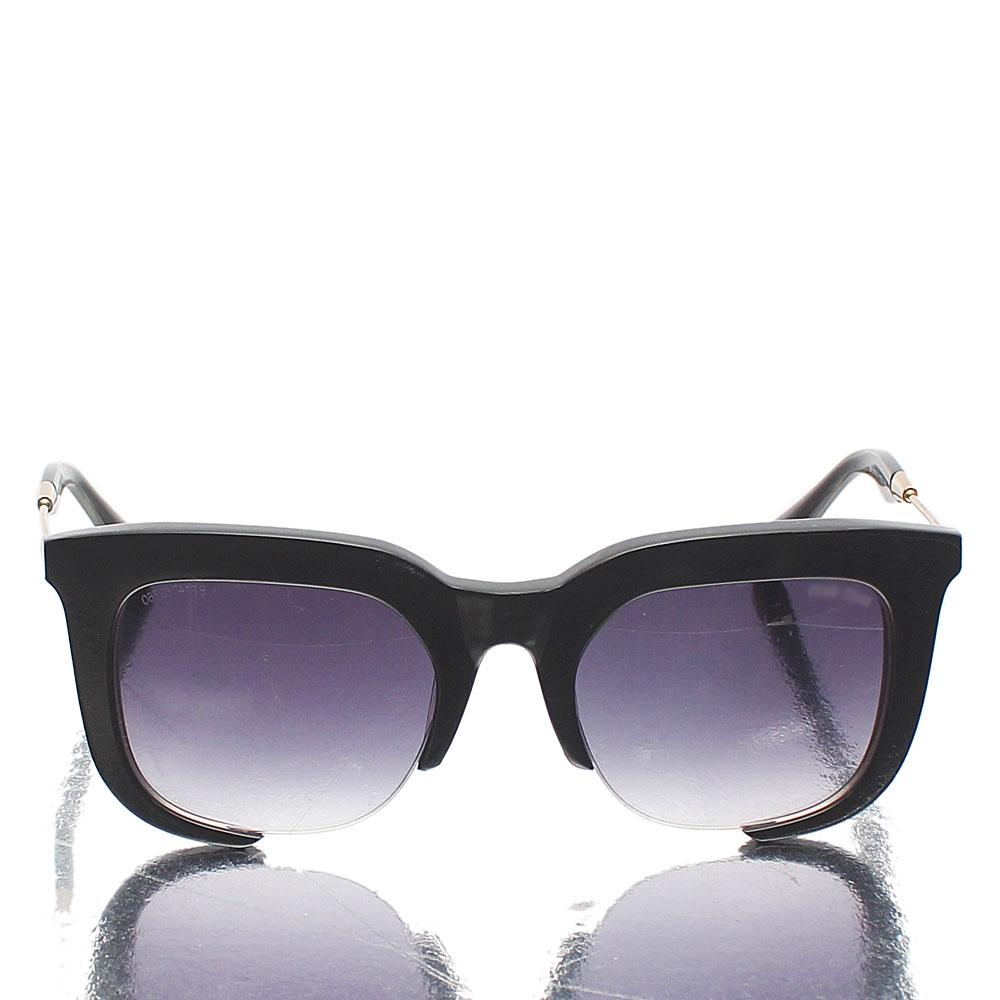 Black Cut-out Club-Master Sunglasses