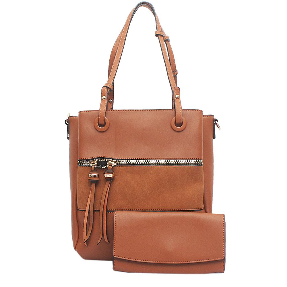 Nottinghill Brown Leather Handbag